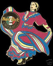 Hard Rock Cafe ONLINE 2001 Cinco De Mayo PIN - DANCER GIRL HRO On-Line