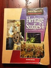 BJU Heritage Studies 4 Student Text 2nd Edition PB - Acceptable!
