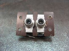 BSR McDonald 6500/X Turntable REPAIR PART - RCA Jack Assembly