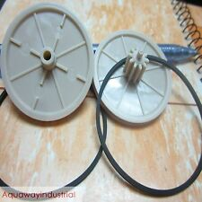5pcs Philips Marantz Player CDM-4 CDM4 Turntable Tray Drawer Gear Wheel + Belt