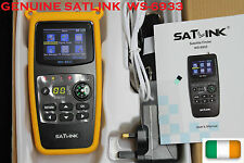 "Satellite Signal Finder HD FTA Meter,Genuine SatLink WS-6933 DVB-S2 LCD 2.1"" Pro"