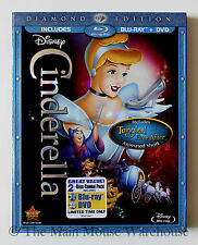 Cinderella Disney Masterpiece Fairy Tale on Blu-ray & DVD English French Spanish