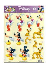 Toller 3D Motivbogen Etappenbogen 3D Bild Disneys Mickey  Daisy & Pluto  (139)
