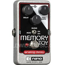 EHX Electro Harmonix MEMORY TOY Analog Delay With Modulation Guitar FX Pedal