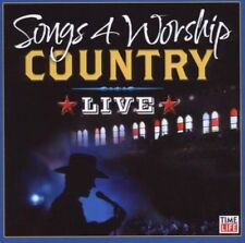 FREE SHIP. on ANY 2 CDs! NEW CD Various Artists: Songs 4 Worship: Country Live