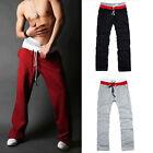Mens Autumn Sports Jogger Casual Harem Baggy Sweat Pants Cotton Trousers Slacks