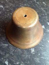 vintage heavy brass bell rim over 1kg will make a great bell see photo