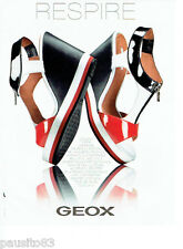 PUBLICITE ADVERTISING 086  2012  Geox  sandales chaussures femme