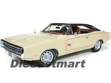 1970 DODGE CHARGER RT/SE CREAM DODGE 100TH ANNIVERSARY 1:18 AUTOWORLD AMM1036
