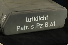 STENCIL schablone WW2 WWII GERMAN AMMO SHELL  BOX CASE TIN 2.8cm Patr.s.Pz.B.41
