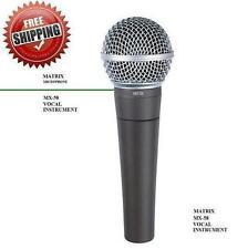 MX58 Dynamic Vocal Mic | SM-58 type + Free Mic Cord MC58 FREE SHIPPING