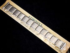 """Vintage NEW OLD STOCK stainless steel Cornell expansion watch band 17.5mm 11/16"""""""