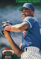 421  JEROME WALTON  CHICAGO CUBS TOPPS BASEBALL CARD STADIUM CLUB 1992