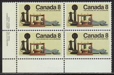 CANADA #641 8¢ Telephone Centenary LL Inscription Block MNH