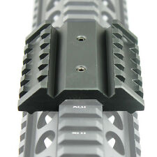 45 Degree Offset Dual Side Rail Angle Mount 6 Slot Tactical Accessory Rail