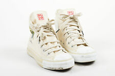 Converse All Star Cream Canvas Limited Edition John Lennon Sneakers SZ 5