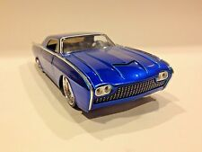 JADA 1963 THUNDERBIRD BLUE 1/24 DIECAST CAR NEW WITHOUT BOX