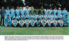 MANCHESTER CITY FOOTBALL TEAM PHOTO 1980-81 SEASON