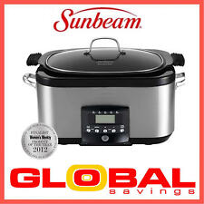 NEW 5.5 LTR SUNBEAM HP8555 SECRETCHEF®  ELECTRONIC SEAR and SLOW COOKER