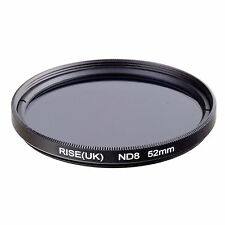 52mm Neutral Density ND8 filter for Canon Nikon Sony Pentax Sigma Camera lens
