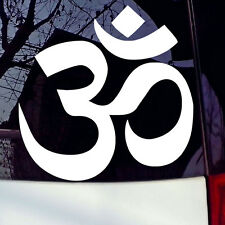 OM AUM SYMBOL YOGA Car Truck Boat Window Bumper Vinyl Decal Sticker JDM Funny 4""