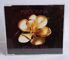 MADONNA - YOU'LL SEE 1995 3 TRACK CD SINGLE NEW JEWEL CASE