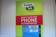 Straight Talk 4FF Sim Card for AT&T and Unlocked GSM Phones