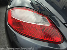 GENUINE PORSCHE 987 BOXSTER, CAYMAN CLEAR/RED REAR LIGHT - N/S PASSENGER - NEW