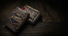Bicycle Black Monarchs Playing Cards Deck by Theory 11 Magic New Sealed