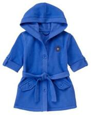 NWT GYMBOREE GIRL FLOWER SHOWERS BELTED HOODIE JACKET TOP BLUE SPRING SIZE M 7 8