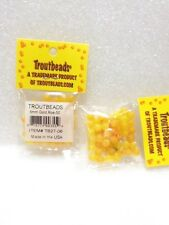 Troutbeads 6 mm Gold Roe, 1 Pack