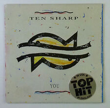 """7"""" Single - Ten Sharp - You - s817 - washed & cleaned"""