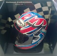 MINICHAMPS HELMET COLLECTION 1:2 CASCO DIE CAST SUOMY 2001 T. BAYLISS ART 011221