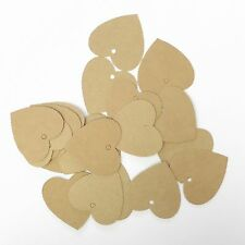 Lot of 50 Pieces Heart Hang Tag - 1