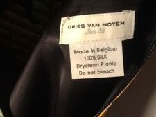 DRIES VAN NOTEN GONNA TG. 38 VARIOPINTA IN SETA