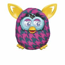 Furby Boom Purple Houndstooth Electronic Talking Pet Ages 6+ Toy Boys Girls Gift