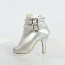 """Sherry Silver Shoes Boots for 16"""" Tonner Doll Ficon/Sybarite/Antoinette(80-NS-4"""