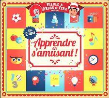 APPRENDRE EN S'AMUSANT DES 2 ANS - ENFANTS - 3 CD + 2 DVD COMPILATION