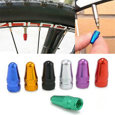 5 X Anodised Alloy Cycling Bike Bicycle MTB Presta/French Valve Caps Dust Cover