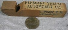 Vintage 1920's-30's Pleasant Valley Auto Wheeling, WV Wood Whistle