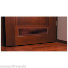 Brown Bathroom Door Air Vent Grille 460mm x 135mm Ventilation Cover Grid T15BR