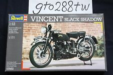"""Revell AG 1/12 scale Vincent series C """"Black Shadow"""" 1952 motorcycle kit (#7952)"""