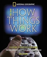 New How Things Work: From Lawn Mowers to Surgical Robots and Everthing-ExLibrary