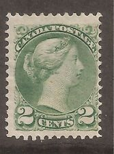 Canada  Mint Hinged   SC # 36   1c Green  Cat Val $85
