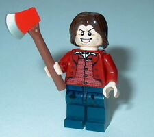 "MOVIE Lego The Shining ""JACK TORRANCE"" w/axe Custom NEW Classic Horror #9"