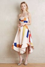 NWT Anthropologie Strapless Museo Dress sz L by Cameo fits 8 10 Rare GORGEOUS
