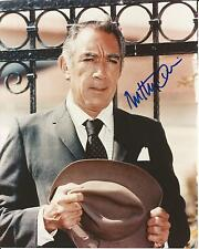 Hand Signed 8x10 photo - ANTHONY QUINN - Lawrence Of Arabia + COA