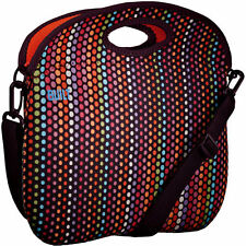 "Built NY Netbook Laptop Portfolio Bag 7 - 10"" - Polka Dot"