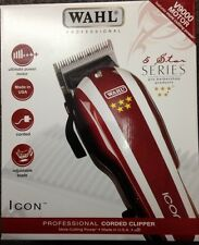WAHL PROFESSIONAL NEW 5 STAR ICON HAIR CLIPPER ORIGINAL UK SELLER
