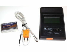 New TM-902C Digital LCD K Type Thermometer Single Input & Thermocouple Probe UK